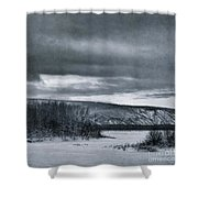 Land Shapes 14 Shower Curtain