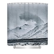 Land Shapes 17 Shower Curtain