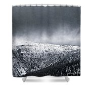 Land Shapes 2 Shower Curtain