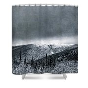 Land Shapes 3 Shower Curtain