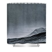 Land Shapes 6 Shower Curtain