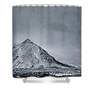 Land Shapes 9 Shower Curtain