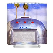 Land Yacht Palm Springs Shower Curtain