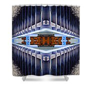 Landing Bay Shower Curtain
