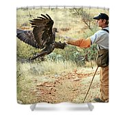 Landing One Shower Curtain