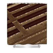 Landing Strips Shower Curtain