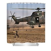 Landing Zone Shower Curtain