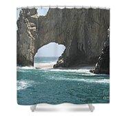 Lands End Beach - Cabo San Lucas Mexico Shower Curtain