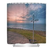 Lands End Cornwall Shower Curtain