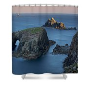 Lands End Dawn Shower Curtain