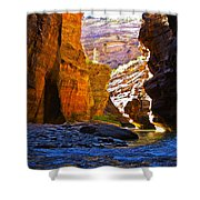 Landscape 14 Shower Curtain