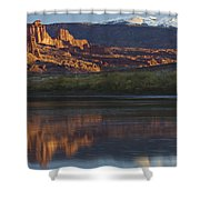 Lake 7 Shower Curtain