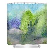 Landscape 3 Shower Curtain