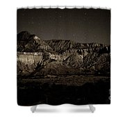 Landscape A10c Nm Co Shower Curtain