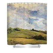 Landscape And Clouds  Shower Curtain