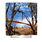 Landscape Arch - Arches National Park Shower Curtain