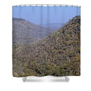 Landscape At Panna National Park In India Shower Curtain
