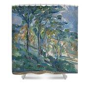 Landscape, C.1900 Shower Curtain
