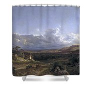 Landscape In Dauphine Shower Curtain