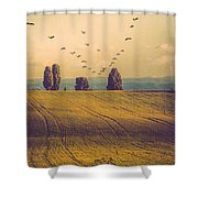 Landscape In France Shower Curtain
