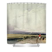 Landscape In Normandy, Traditionally Shower Curtain