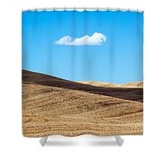 Landscape In Summer Tuscany Italy Shower Curtain