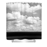 Landscape Layers In The Midwest Shower Curtain