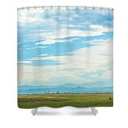 Landscape Of Denver Colorado Shower Curtain