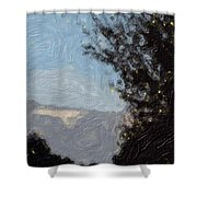 Landscape Of Fall Shower Curtain