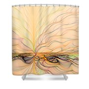 Landscape Of Fantasy Shower Curtain