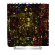 Landscape Of Hell Shower Curtain