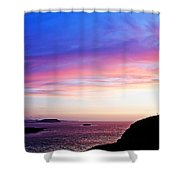 Landscape - Sunset Shower Curtain