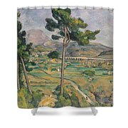 Landscape With Viaduct Shower Curtain