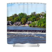 Landscapes In Philly Shower Curtain