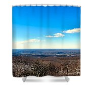 Landscaping Eternity Shower Curtain