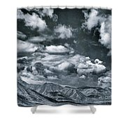 Land Shapes 28 Shower Curtain