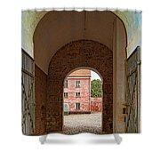 Landskrona Citadel Entrance Shower Curtain