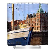 Landskrona Se 204 Shower Curtain