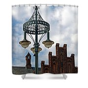 Landskrona Sweden 111 Shower Curtain
