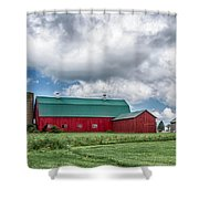 Langford Barn  7d06202 Shower Curtain