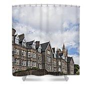 Langland Bay Manor Shower Curtain