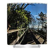 Langmoor-lister Bridge Shower Curtain