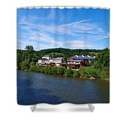 Langsur Germany From Luxemburg Shower Curtain