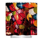 Lantern Stall 03 Shower Curtain