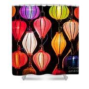 Lantern Stall 04 Shower Curtain