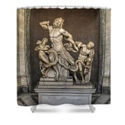 Laocoon And His Sons Shower Curtain