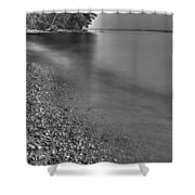 Lapping Waters On The Shore Shower Curtain