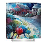 L'arbre Rouge Shower Curtain