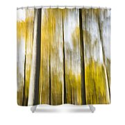 Larch In Abstract Shower Curtain