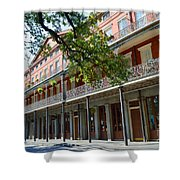 Upper Pontalba Building Photo Shower Curtain